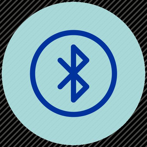 bluetooth, essential, iu, logo, sign, signage icon