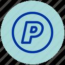 essential, iu, logo, paypal icon