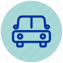 car, essential, iu, transport, vehicle icon