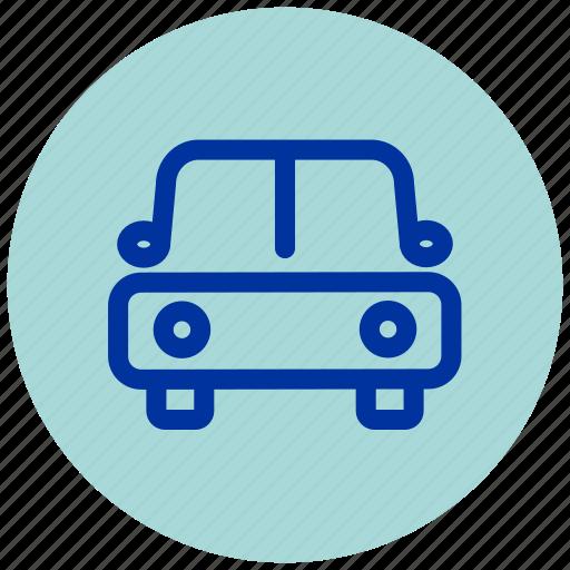 car, essential, iu, transport, vehicle icon