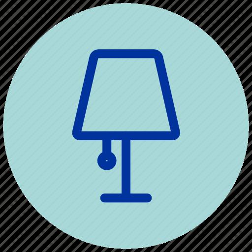 Desk, desklamp, desktop, essential, iu, lamp, light icon - Download on Iconfinder