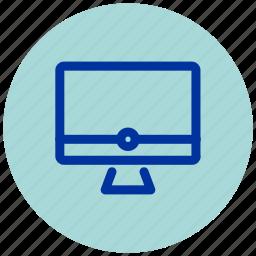 computer, desktop, essential, imac, iu icon