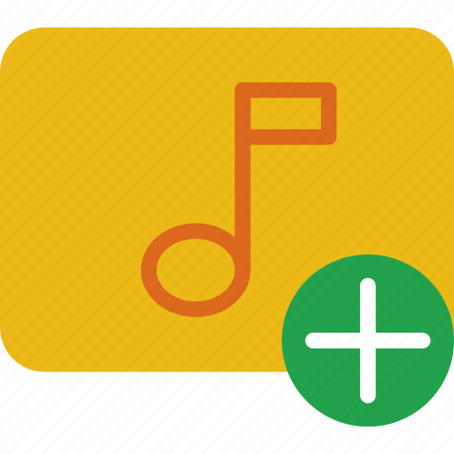 add, app, essential, interaction, misc, sound icon