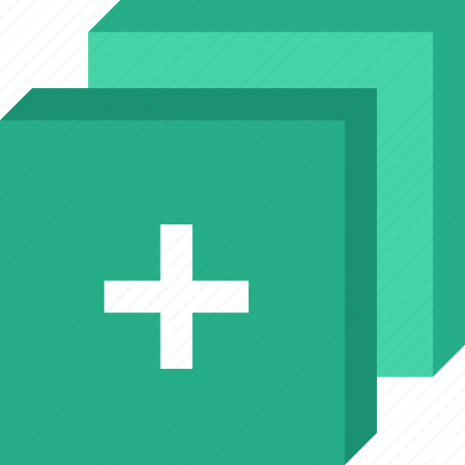 add, app, essential, interaction, layers, misc icon