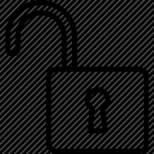 app, essential, interaction, misc, unlock icon