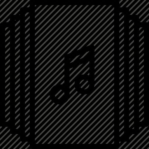 album, app, essential, interaction, misc, music icon