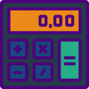 app, calculator, essential, interaction, misc icon