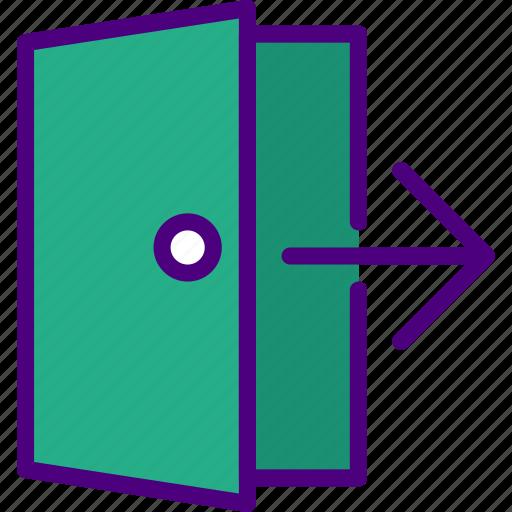 app, essential, exit, interaction, misc icon
