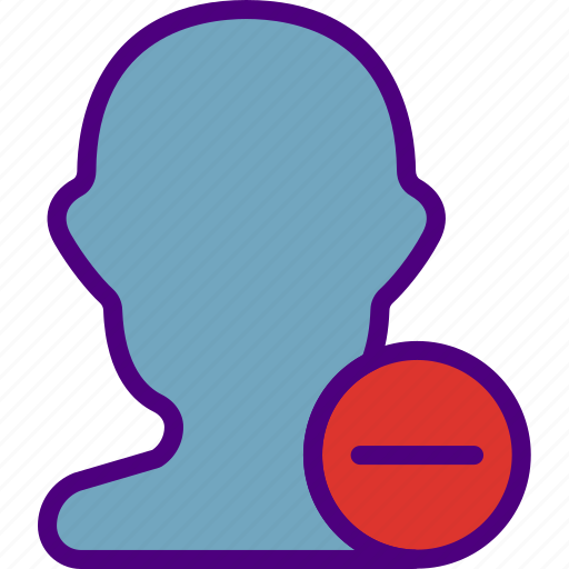 app, essential, interaction, male, misc, substract, user icon
