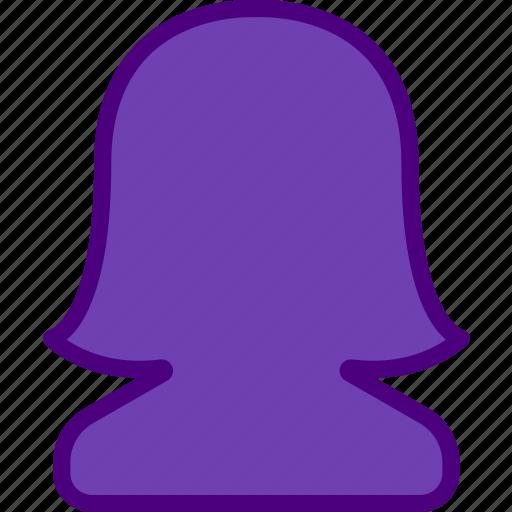 app, essential, female, interaction, misc, user icon