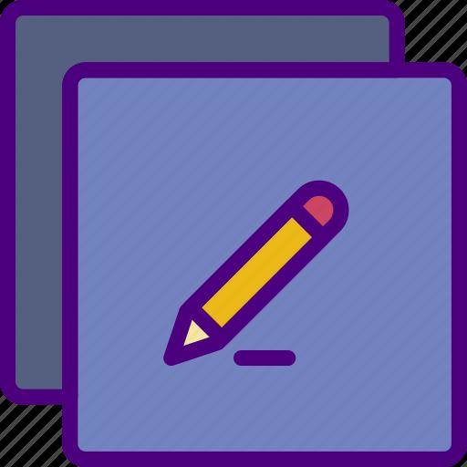 app, edit, essential, interaction, misc icon