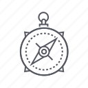compass, course, direction, navigation icon
