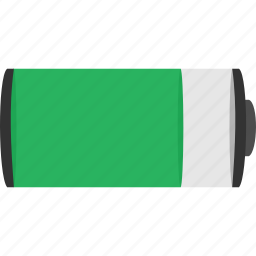 battery, charge, full, power icon