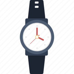 time, watch, wristwatch icon