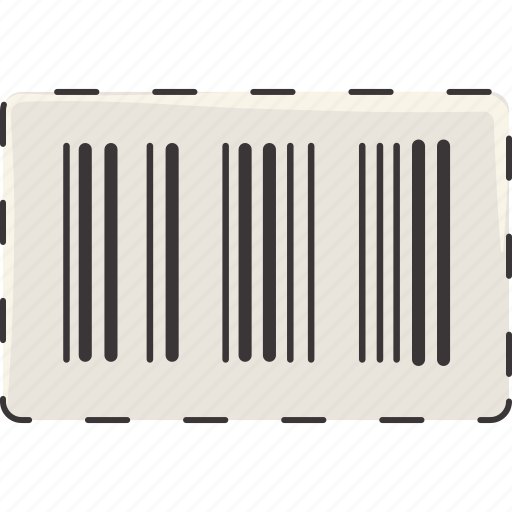 barcode, label, scan icon