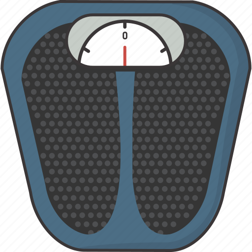 bathroom, diet, scale, weigh icon