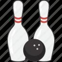 ball, bowling, pin, pins