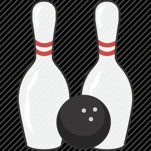 ball, bowling, pin, pins icon