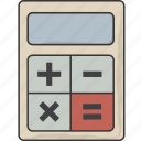 calculate, calculator icon