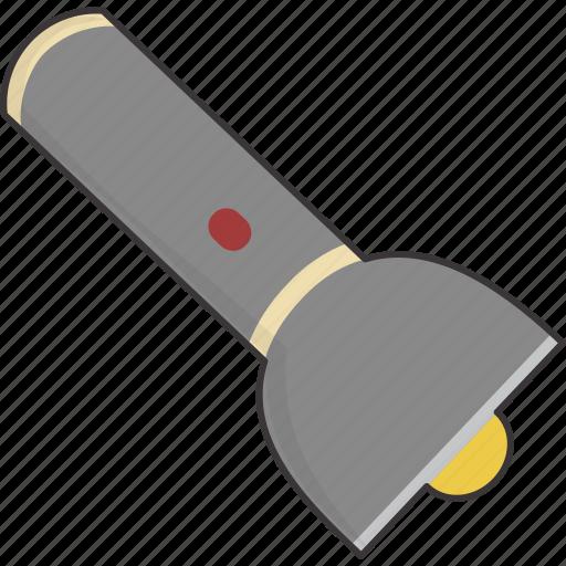 flash, flashlight, light, torch icon