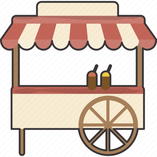 cart, food icon