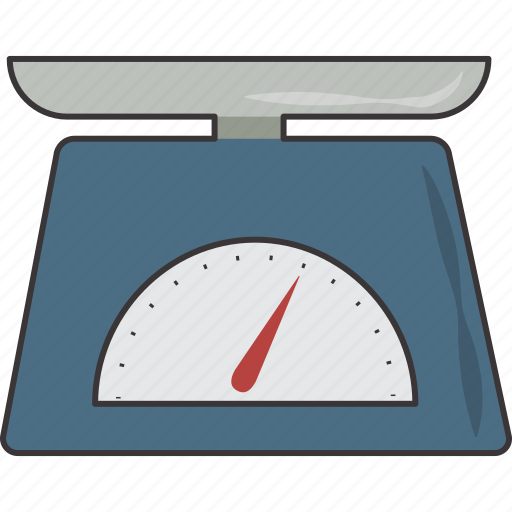 food, scale, weigh icon