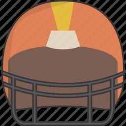 football, helmet icon