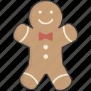 cookie, gingerbread, man