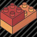 block, blocks, lego, piece, pieces icon