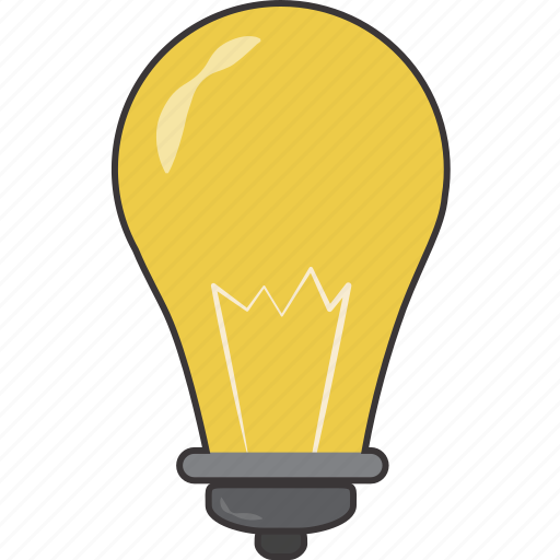 idea, lightbulb icon