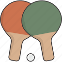 ball, paddle, paddles, ping, pong icon