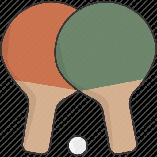 ball, paddle, paddles, ping, pong icon