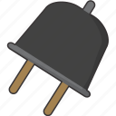 plug, power icon