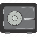 safe, secure, vault icon