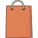 bag, cart, sales, shopping icon