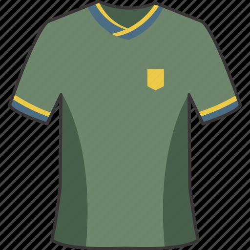 football, jersey, shirt, soccer icon