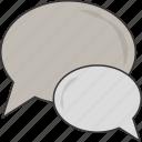 conversation, bubbles, speech, chat