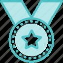 award, medal, ribbon