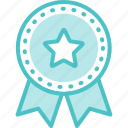 award, medal, ribbon icon
