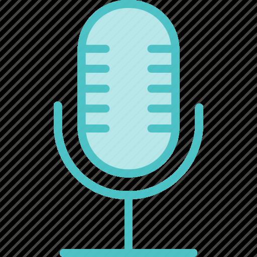 audio, microphone, record, speak, voice icon