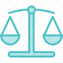 justice, law, scale, scales icon