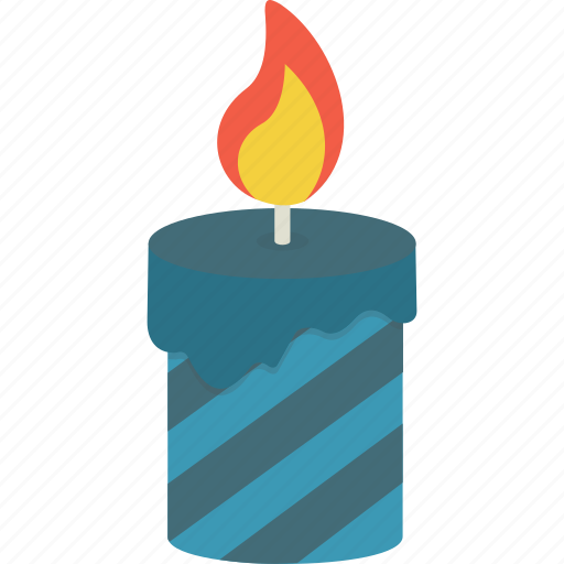 birthday, candle icon