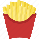 french, french fries, fries icon