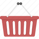 basket, checkout, shopping, shopping basket icon