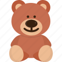 toy, bear, teddy, teddy bear