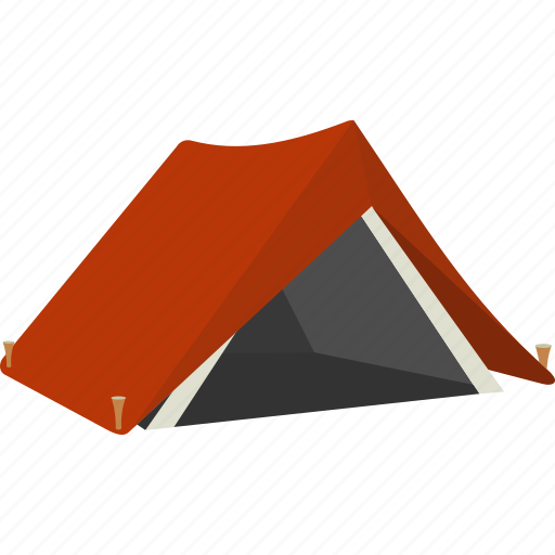 camp, camping, outdoors, tent, vacation icon