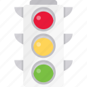 alert, light, signal, traffic, warning icon