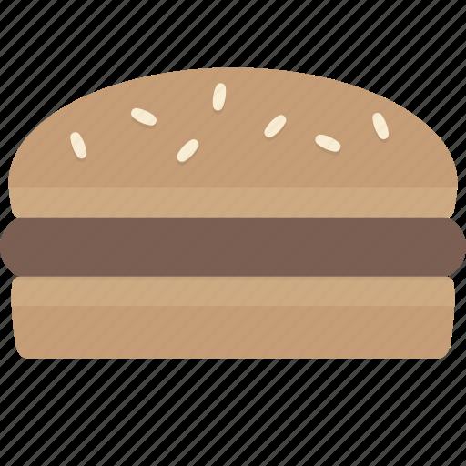 burger, fast food, hamburger, meal icon