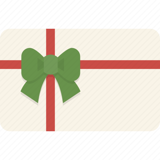 card, christmas, gift, gift card, shopping icon