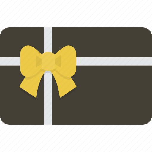 card, gift, gift card, shopping icon